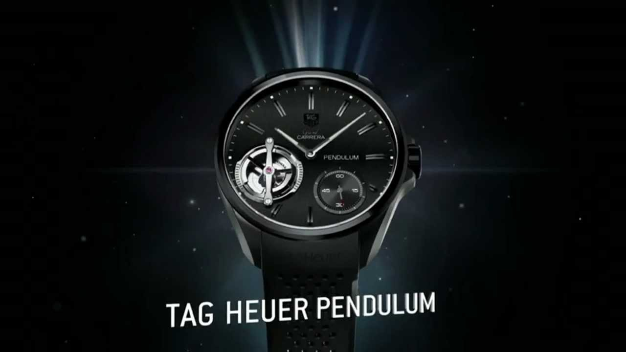Tag Heuer Grand Carrera Pendulum Replica Watch