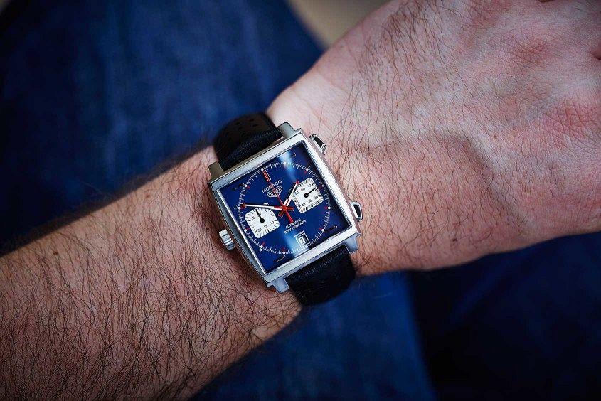 Tag Heuer Monaco Calibre 11 Replica Watch