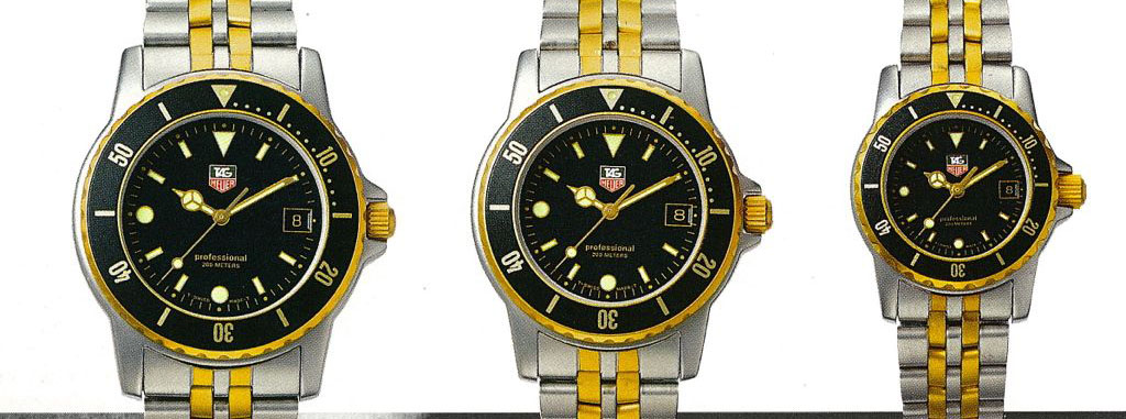 Tag Heuer Professional 1000 Replica Watch