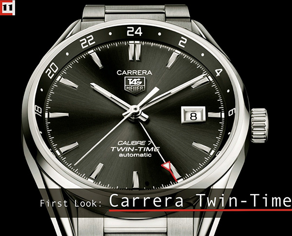 Tag Heuer Carrera Twin-Time Replica Watch