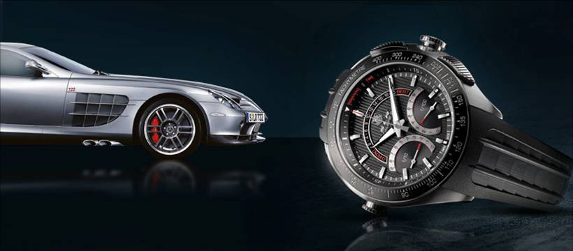 Tag Heuer SLR/Mercedes-Benz Replica Watch