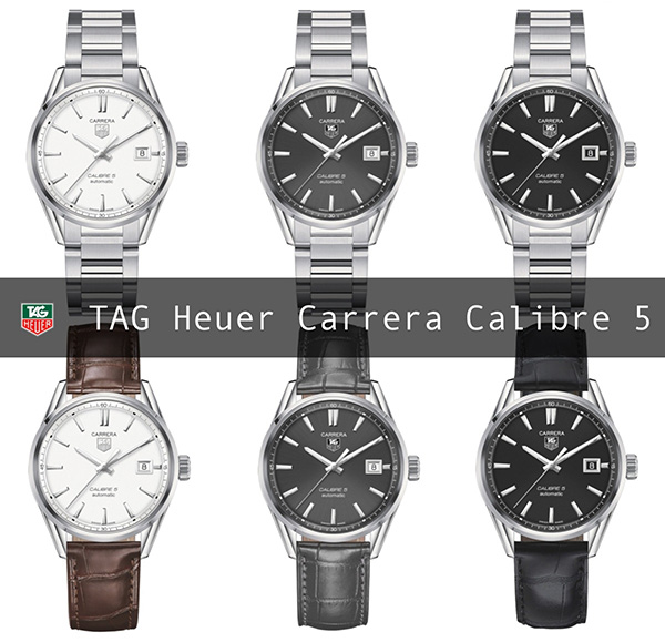 Tag Heuer Carrera Calibre 5 Replica Watch