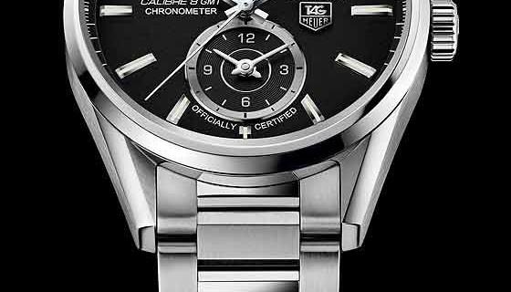 Tag Heuer Carrera Grande Date GMT Replica Watch