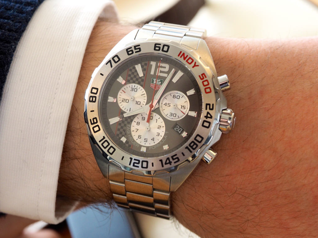 Tag Heuer Formula 1 Indy 500 Replica Watch